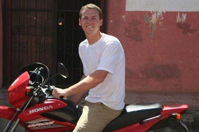 Drew McWay in Nicaragua