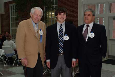 From left, Isadore M. Scott, Greer Albergotti, and Jorge Estrada.