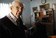 Dr. Harry Neel (Photo by Brie Cohen for Albert Lea Tribune)