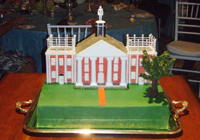 Colonnade Cake for Megan Hunt '07 and Joel Carter '07