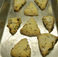 Spelman College's Isis Rose's first batch of Scones for the Campus Kitchen Project