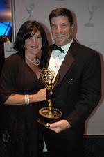 Michael Applebaum, his wife Carolyn, and Emmy